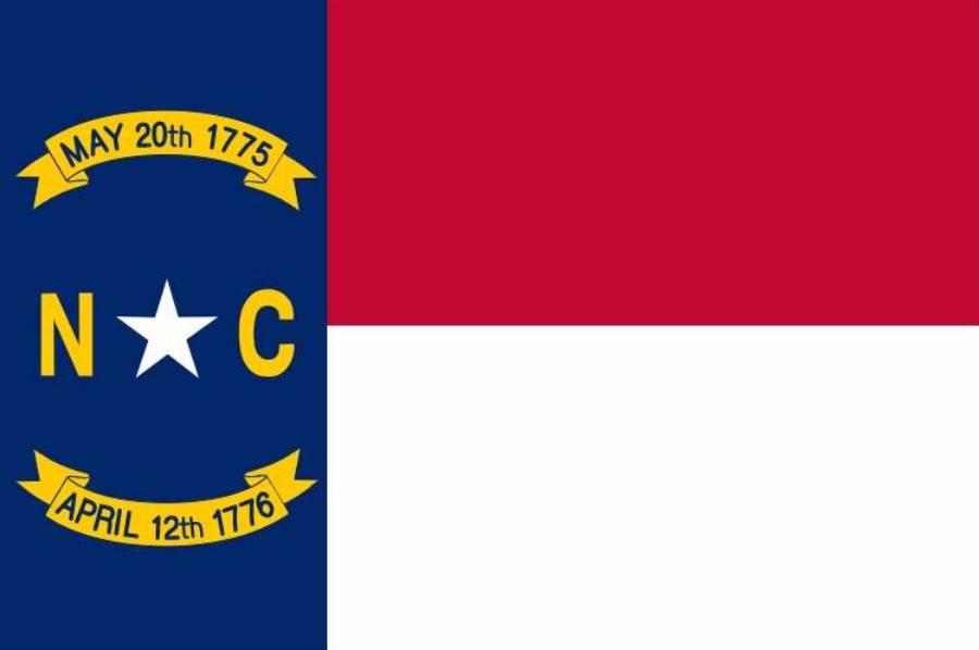 Vlag van North Carolina