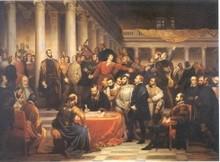 Compromis des Nobles (1849 - Edouard de Bièfve)