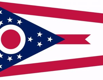 Vlag van de Amerikaanse staat Ohio