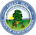 Zegel van North Dakota