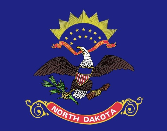 Vlag van North Dakota