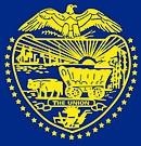 Schild van de Amerikaanse staat Oregon