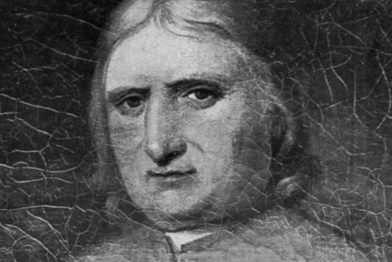 Vermeend portret van George Fox (Publiek Domein - wiki)