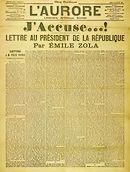 J'Accuse van Émile Zola