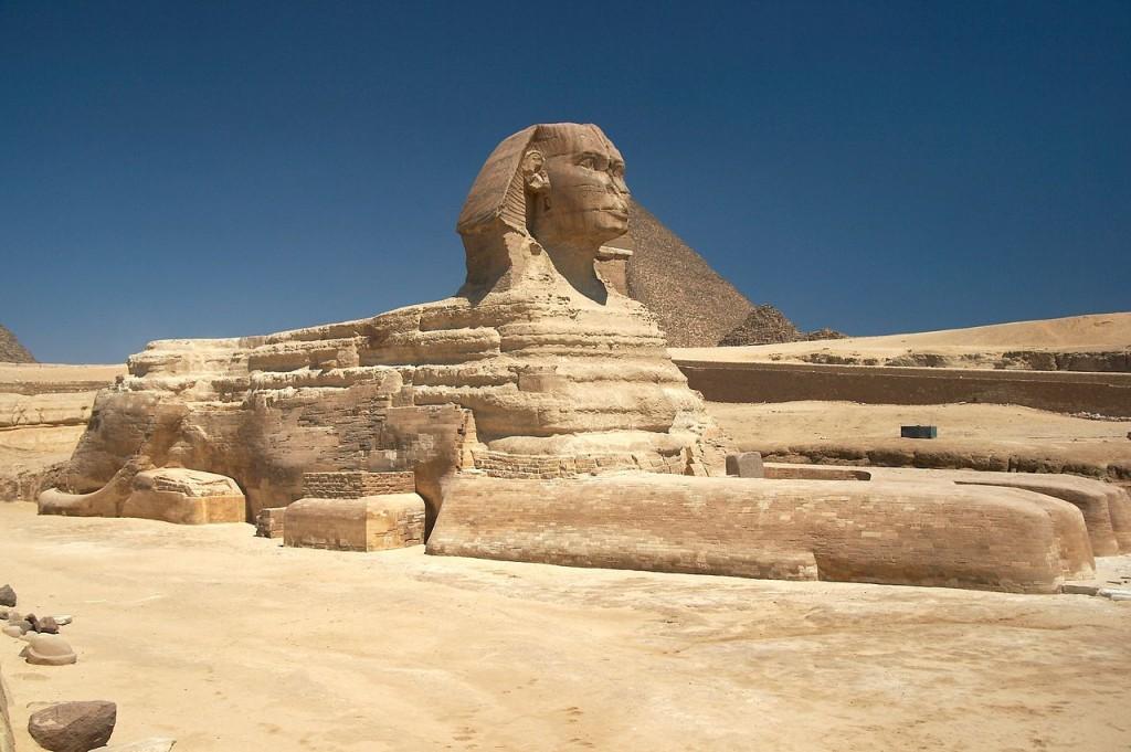 De Grote Sfinx van Gizeh