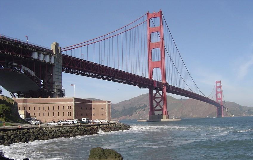 Golden Gate Bridge in Californië - cc