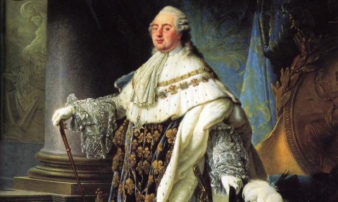 Lodewijk XVI door Antoine-François Callet in 1788