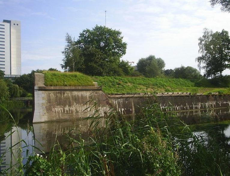 Fort Lunet I, onderdeel van de Nieuwe Hollandse Waterlinie