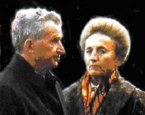Nicolae en Elena Ceausescu