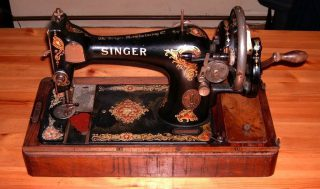 Singer naaimachine (Publiek Domein - wiki)