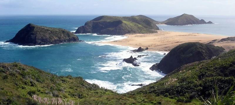 Kaap Maria van Diemen op het Noordereiland