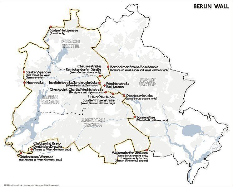 Berlijnse Muur Bouw En Val Van De Muur 1989 Historiek