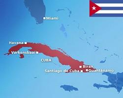 Kaart van Cuba