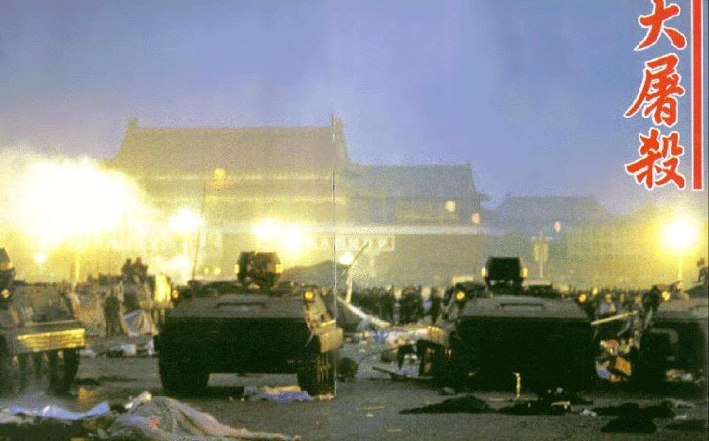 Studentenopstand in Peking (1989)