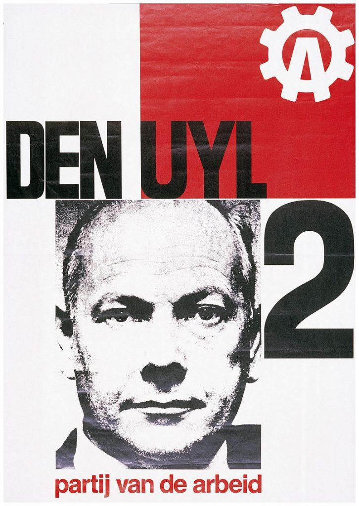 Verkiezingsposter van de PvdA uit 1967 (PvdA)