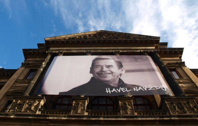 Eerbetoon aan Vaclav Havel