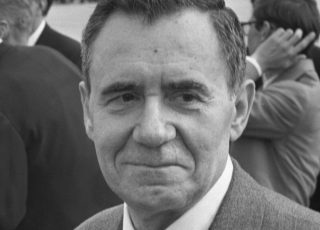 Andrej Gromyko op Schiphol, 1972