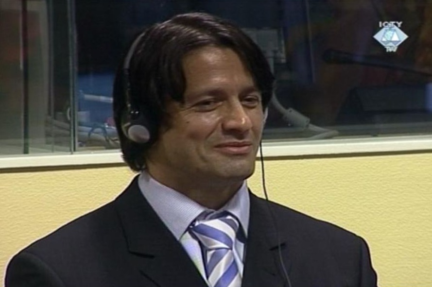 Naser Orić in 2008 voor het Joegoslaviëtribunaal