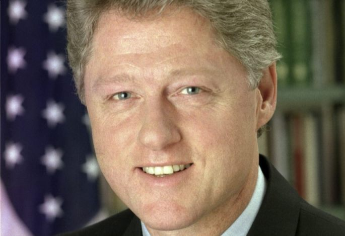 Bill Clinton (Publiek Domein - Bob McNeely, The White House)