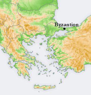 Byzantion / Byzantium (CC BY-SA 3.0 - wiki)