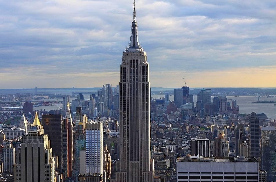 Het Empire State Building in New York