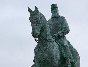 Ruiterstandbeeld van Leopold II in Oostende