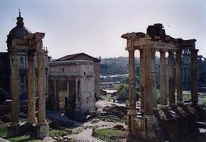 Forum Romanum - Foto: Stefan Kortrijk