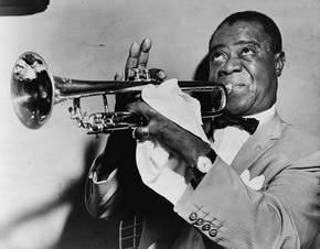 Jazzlegende Louis Armstrong