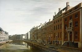 Het andere schilderij van Berckheyde van de 'Gouden Bocht'.