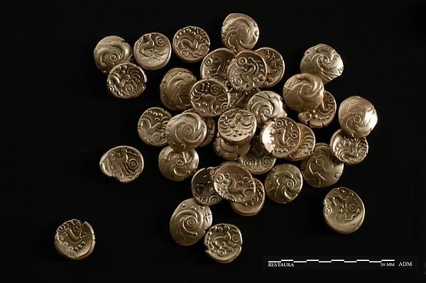 Gouden Eburonenstater, 50 v.Chr.