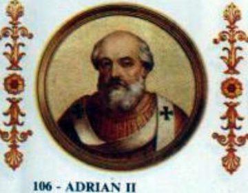 Paus Adrianus II (792-872)