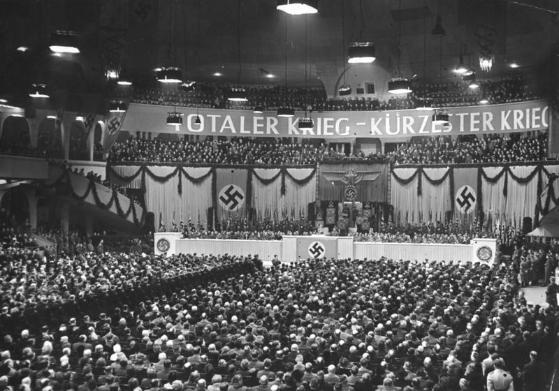 Sportpalastrede van Joseph Goebbels, 18 februari 1943