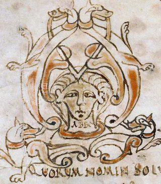 Voorblad van een traktaat van Abbo van Fleury