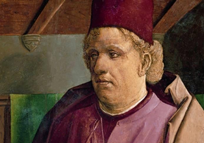 Pietro d'Abano volgens Justus van Gent (Publiek Domein - wiki)