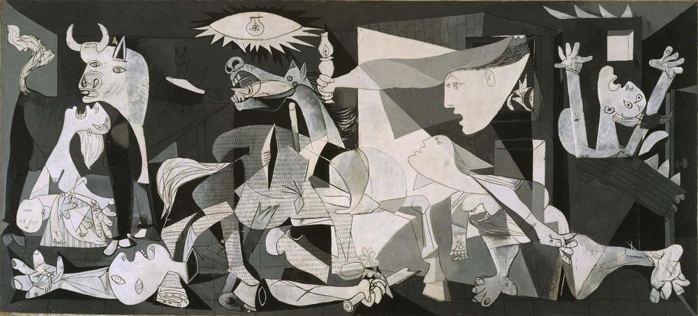 Picasso's werk: Guernica (1937)