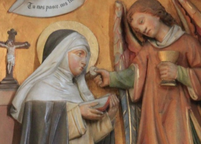 De heilige Agnes van Montepulciano