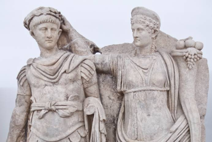 Nero en Julia Agrippina