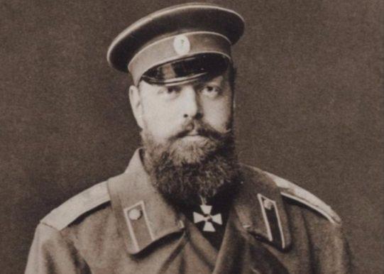 Tsaar Alexander III van Rusland