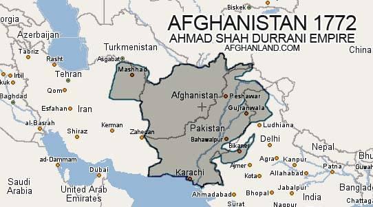 Rijk van Ahmed Shah Durrani