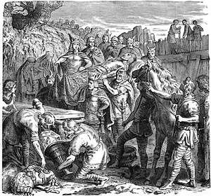 Begrafenis van Alarik I
