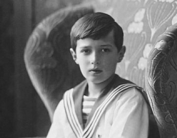Aleksej Nikolajevitsj in 1913