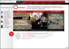 Rijksmuseum van Oudheden heeft beste geschiedeniswebsite