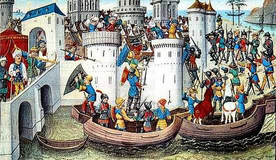 Bestorming van Constantinopel in 1203