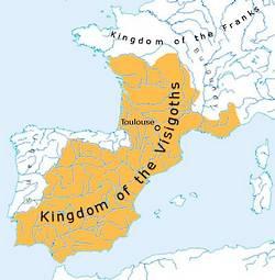 Het rijk van de Visigoten tijdens de regeerperiode van Alarik II