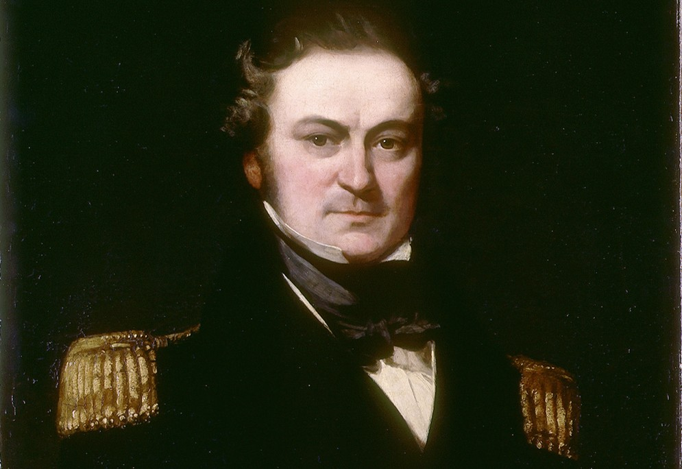 Captain William Edward Parry door Charles Skottowe