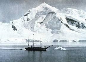 Foto gemaakt tijdens de expeditie van Adrien Gerlache