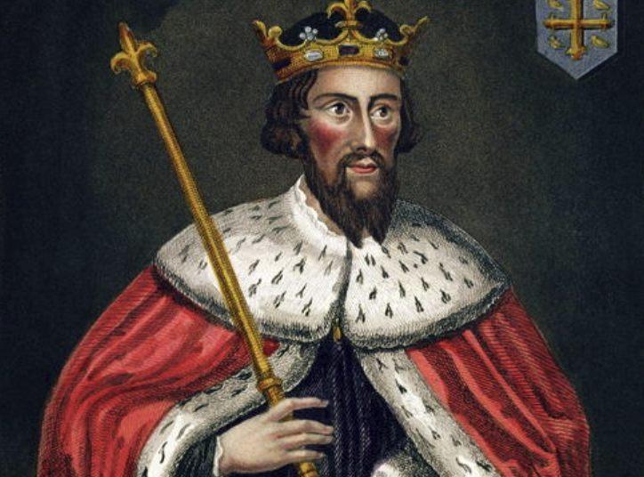 Negentiende-eeuwse afbeelding van Alfred de Grote