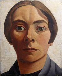 Zelfportret van Charley Toorop uit 1928