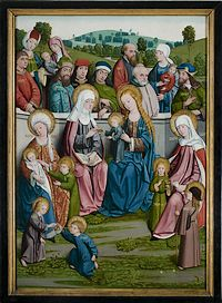 Heilig Maagschap, H. Anna temidden van haar legendarisch nageslacht
