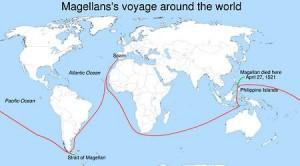 Reis om de wereld van Ferdinand Magalhães